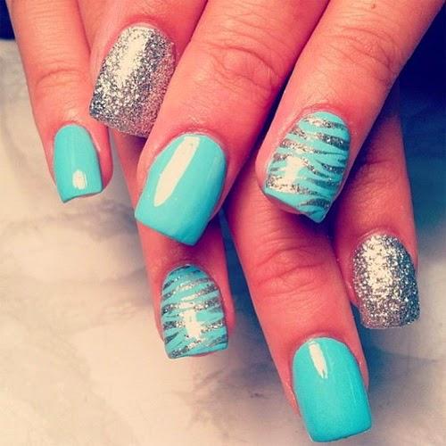 Top 10 Acrylic Nail Art Designs 2015 ~ Fashionip