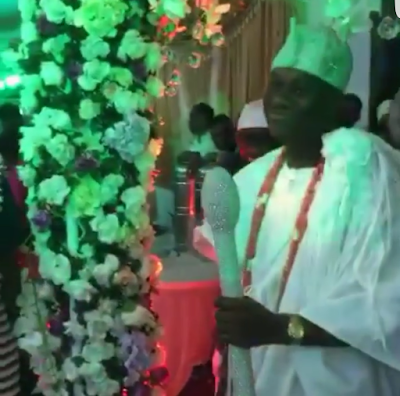 new ooni of ife wedding photos