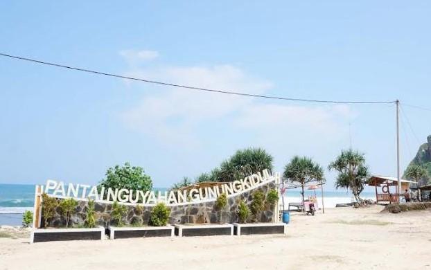 Rute Jalan Menuju Pantai Nguyahan, Pantai Asri Dan Masih Perawan