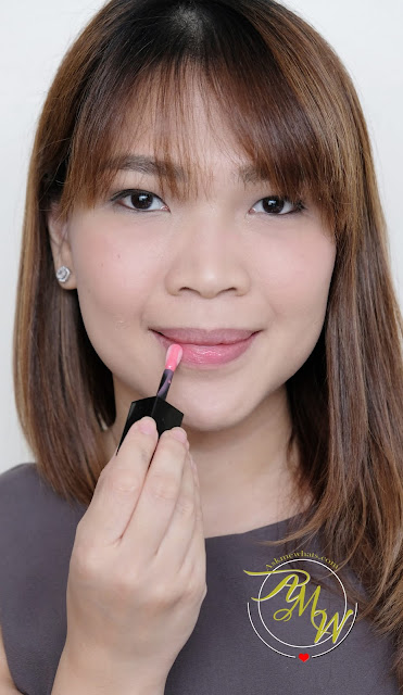 a photo of Make Up For Ever Ultra HD Lip Booster Hydra-Plump Serum in 02 Pink review
