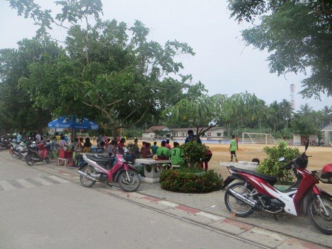 Школа на маенаме, Самуи