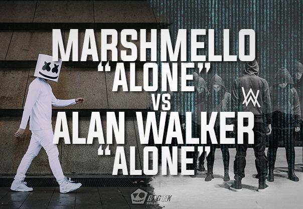Marshmello Alone Vs Alan Walker Alone Bangtax