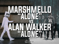 Marshmello Alone Vs Alan Walker Alone