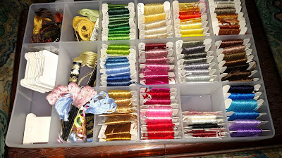 Embroidery Floss Case