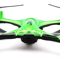 JJRC H31 quadcopter Green rear view