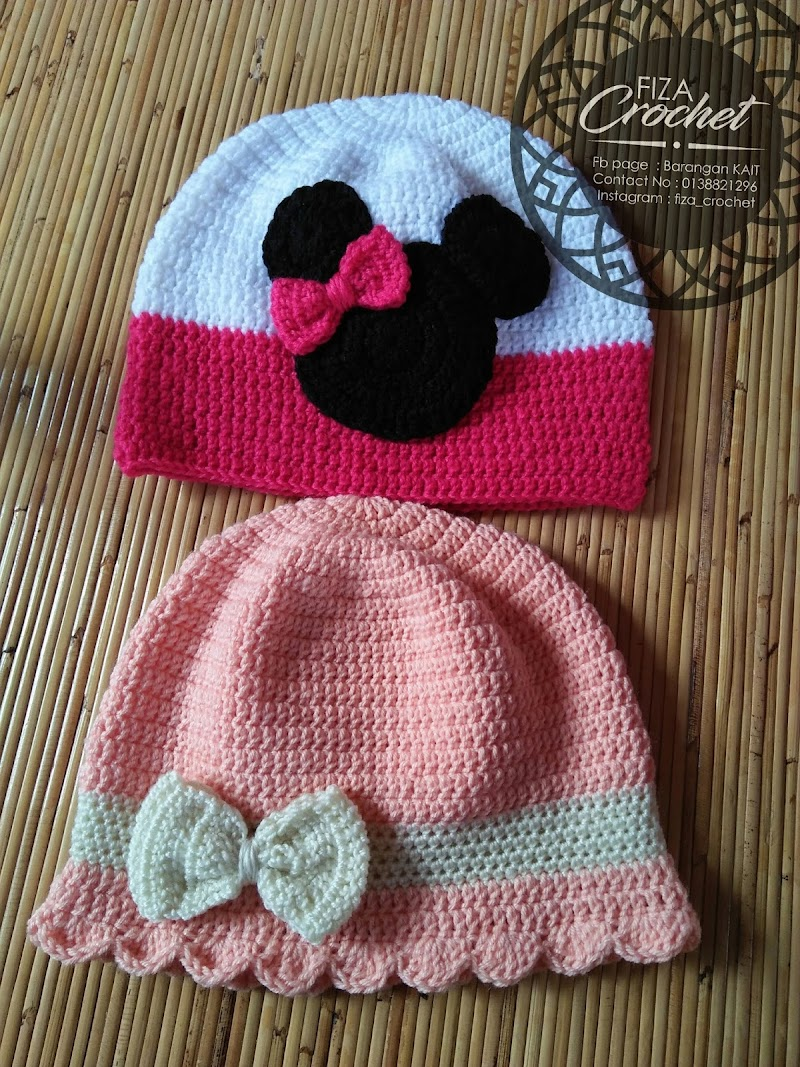 Snowcap kait untuk bayi perempuan, saiz 6-12 bulan