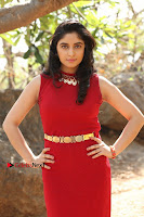 Telugu Actress Zahida Sam Latest Pos in Red Gown at RF Films New Movie Opening  0105.JPG