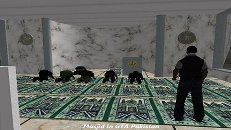 Masjid Mosque Prayer Namaz in GTA San Andreas Pakistan