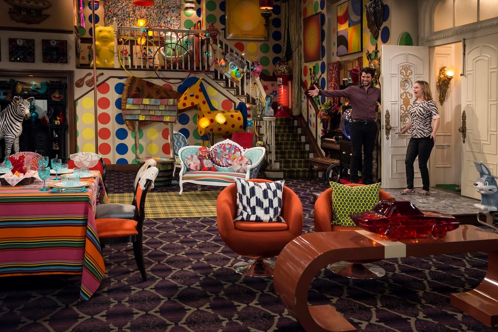 La antigua residencia Gibbler en la tercera temporada de Fuller House