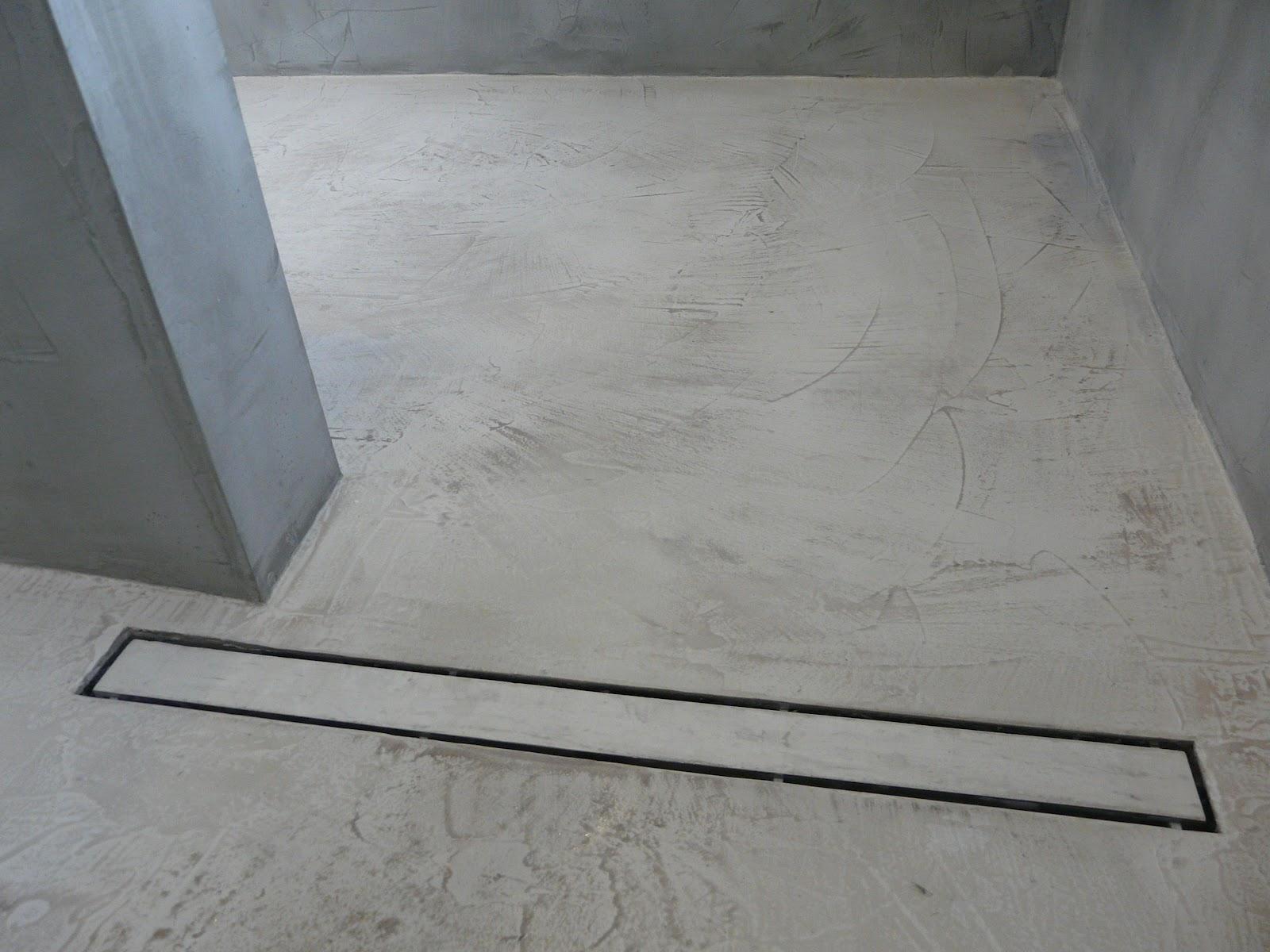 wand wohndesign beton cire september 2012. Black Bedroom Furniture Sets. Home Design Ideas
