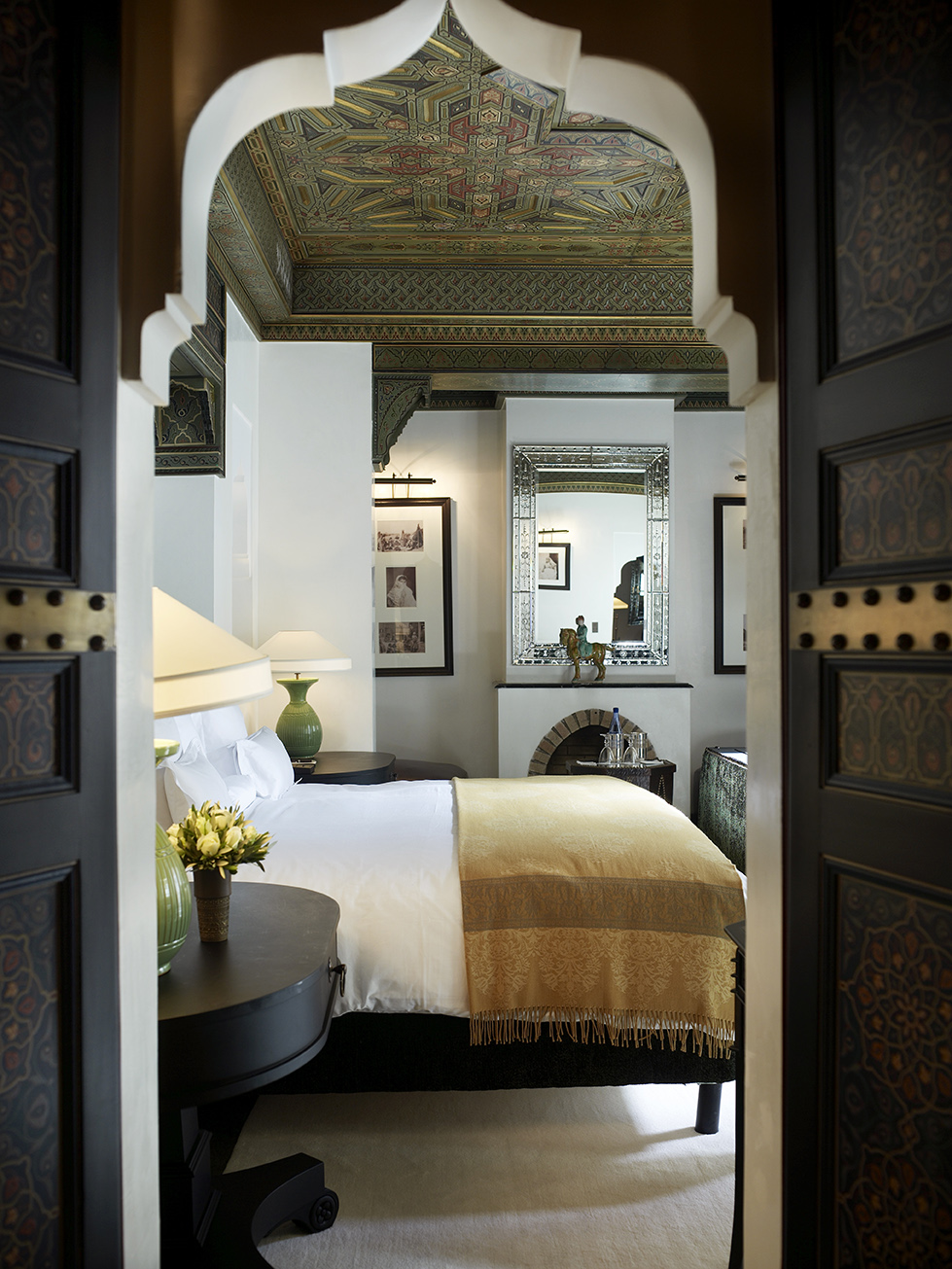 Bedroom Living Prayer Room And Study Room: The Style Saloniste: Return To Marrakech: The Dream Of La