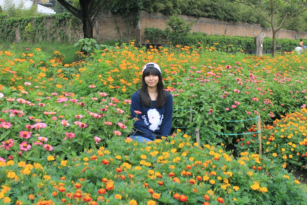 What I wore to Lembang flower garden | japobsganbare.blogspot.com