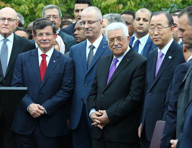 pertama kali bendera palestina berkibar di markas PBB new york