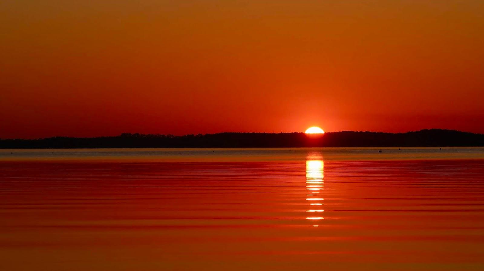 HOURTIN coucher de soleil