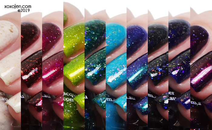 xoxoJen's swatch of Glam Polish Potions & Spells Collection
