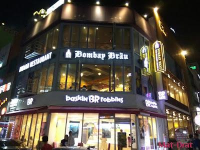 Tempat Makan Makanan Halal Busan Korea India Restaurant Bombay Brau Haeundae