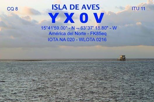 EXPEDICION A ISLA DE AVES 2016