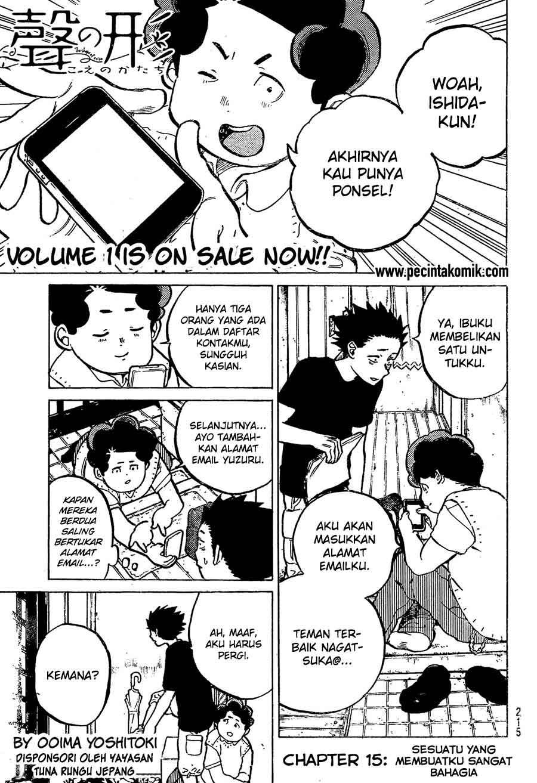 Koe no Katachi Chapter 15-2