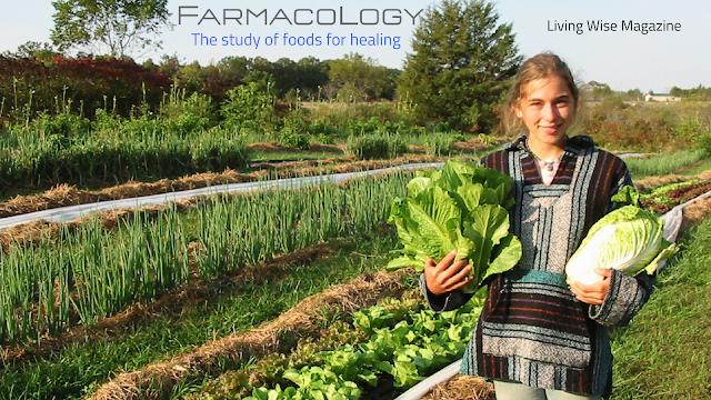 girl harvesting garden