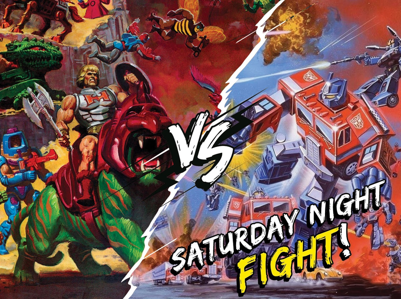 Masters of the Universe vs Transformers