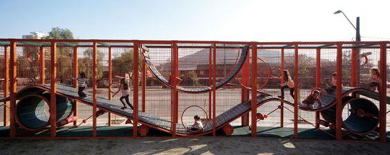 Parque Bicentenário da Infância Santiago Chile
