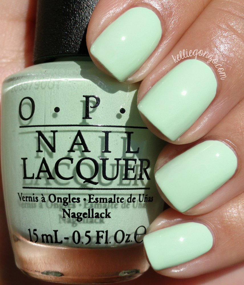 KellieGonzo: OPI Spring 2015 Hawaii Collection Swatches ...