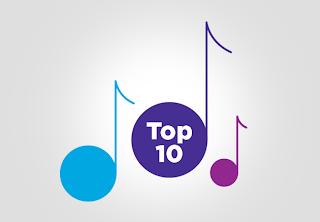 tangga lagu barat 2014