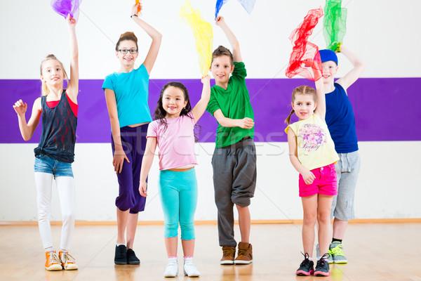 Crianças no Ministério de Dança