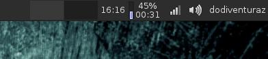 Cara Menampilkan Tanggal di Panel Xfce