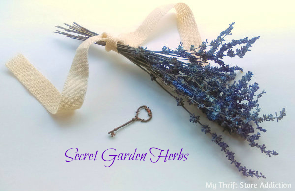 Glorious Garden Gifts mythriftstoreaddiction.blogspot.com Organic dried blue sage bouquet available at Etsy: Secret Garden Herbs