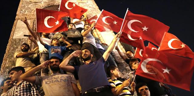 تحالف الدول على تركيا