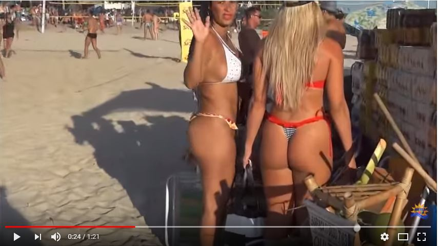 Megabuenas capturadas en la playa