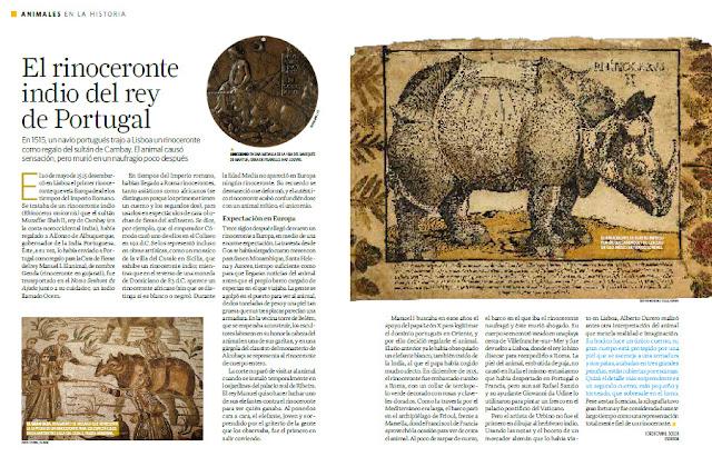 Reportaje rinoceronte Historia NG