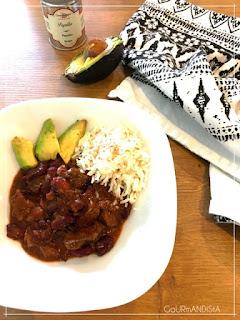 image Chili con carne à la joue de boeuf