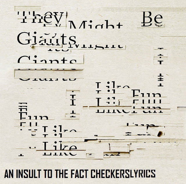 An Insult to the Fact Checkers Lyrics