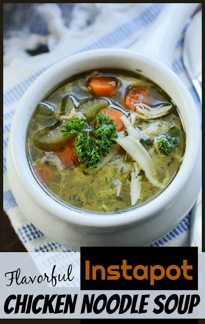 easy-instapot-chicken-noodle-soup-recipes