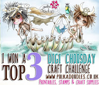 Top 3 at Digi Choosday Challenge
