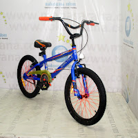 Sepeda BMX Wimcycle Dragster 20 Inci - Blue
