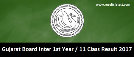 Gujarat Board Inter 1st Year Result