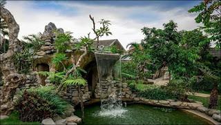 Air terjun Mini di Peta Park Bandung