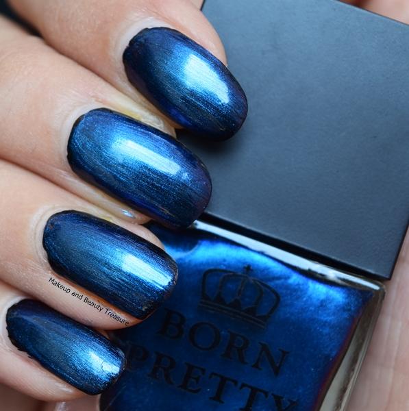 Nail Cake Born Pretty Store Review: Makeup And Beauty Treasure: Born Pretty Store Blue