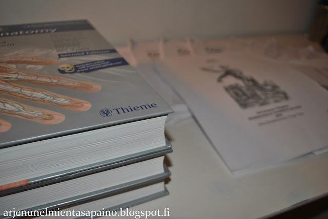 anatomian, opiskelu, opinnot, liikunta, harrastus, lääkis