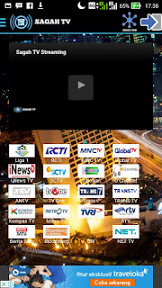 Sagah TV Streaming Android v1.0