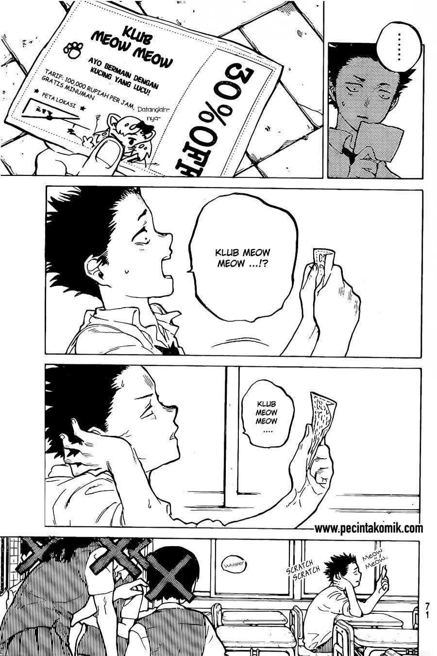 Koe no Katachi Chapter 19-4