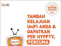 UniFi Super Upgrade Deal & Get A HyppTV Pack FREE for 2 years from 1st July