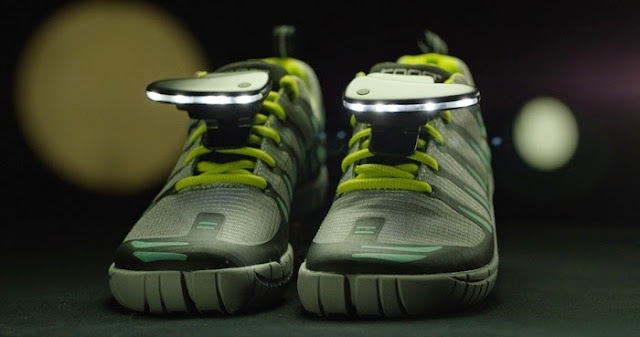 Best Night Gadgets for You - Night Runner 270° Shoe Lights