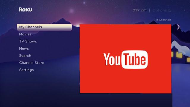 youtube.com/activate roku code
