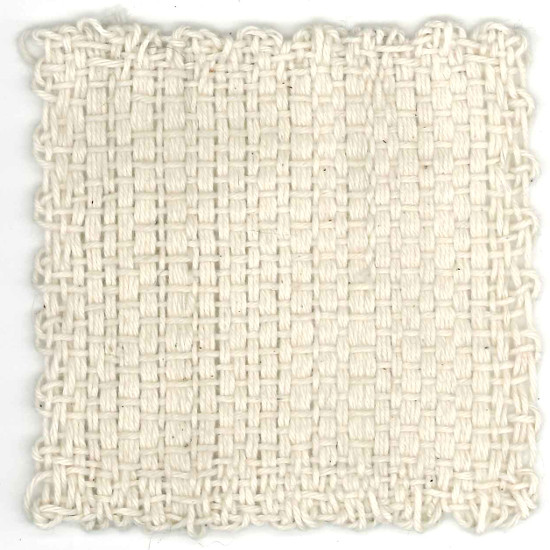 Woven cotton Zoom Loom square