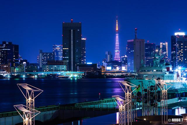 東京タワー「リボン・ゴールド」ダイヤモンドヴェール