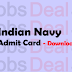 Indian Navy SSR Admit Card 2017 – Sailor/MR/NMR-01/2018/AA-143 Batch